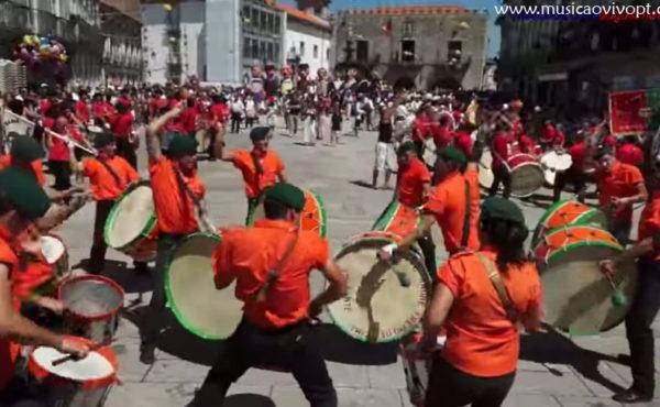Grupos de Bombos – Srª da Agonia em Viana do Castelo – 2012