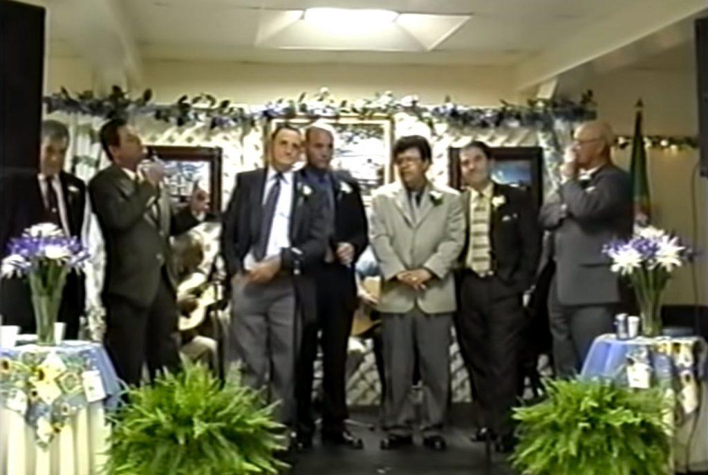 Velhas, desgarradas, cantadores, José Fernandes, Vasco Aguiar, José Placidio, Adelino Toledo, Manuel dos Santos, José Ribeiro e Joao Ângelo, Ilha Terceira