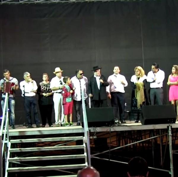 Marinho da Barca, Homenagem, cantadores ao desafio