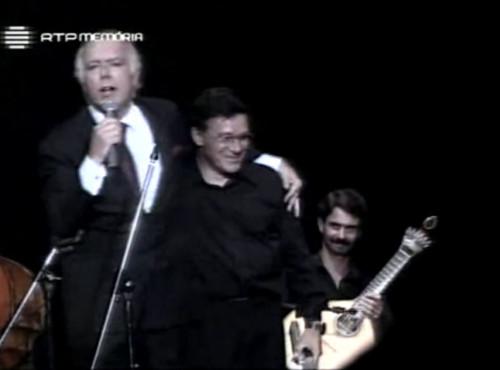 Carlos do Carmo no Coliseu do Recreios 1994 com Raul Mendes