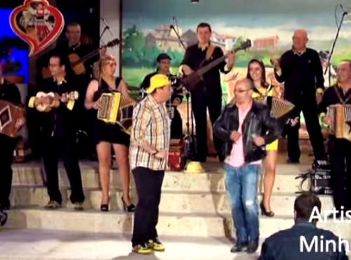 Canario e Fernando Rocha no Santoinho 2013