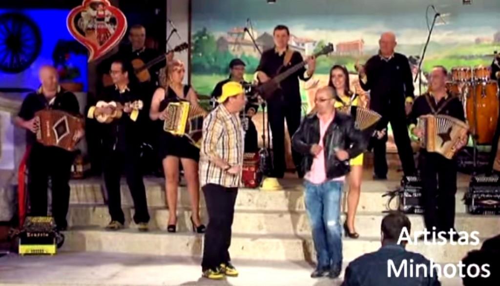 Canario e Fernando Rocha, desgarrada, minho, santoinho, Augusto Canario