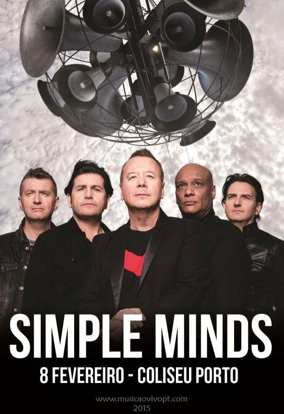 Simple Minds em Portugal 2015, Simple Minds Portugal 2015, Simple Minds Porto 2015