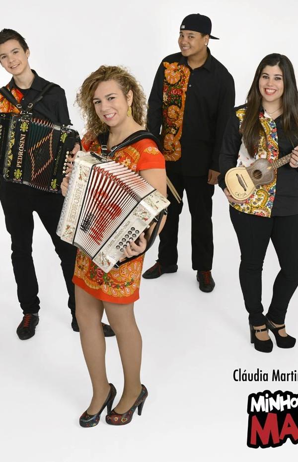 Claudia Martins, Minhotos Marotos, bandas do Minho, Bandas de concertinas, Musica Portuguesa