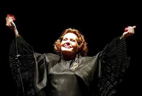 Amália Rodrigues 50 anos de carreira, Recital Coliseu de Lisboa