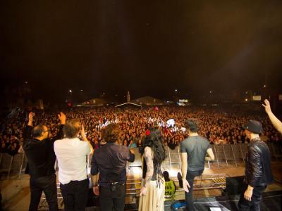 The Gift ao vivo