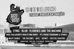 Super Bock Super Rock 2015, Parque das Nacoes, 21º Super Bock Super Rock, festivais verao 2015, concertos ao vivo m Portugal, Artistas, Musica ao vivo, 2015
