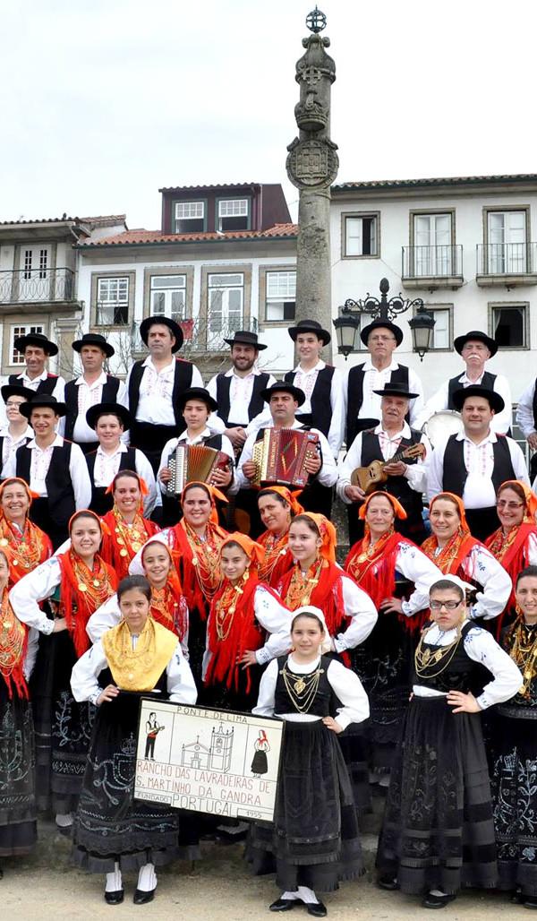 Rancho das Lavradeiras de São Martinho da Gandra, Ranchos do Minho, Ranchos do Alto Minho, Folclore Minhoto, Minho, Musica Popular, Grupos Folclóricos
