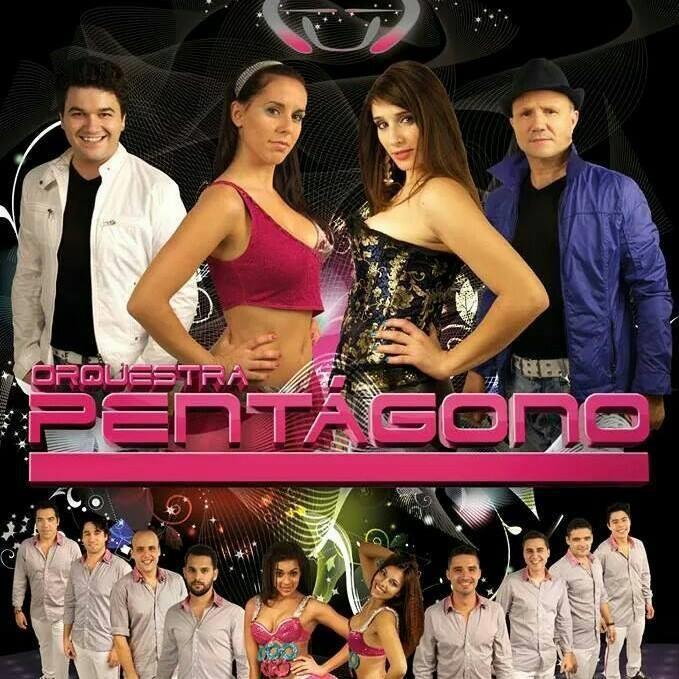 orquestra pentagono, orquestras, bandas, bandas de baile, festas, grupos musicais, norte, Minho, Portugal