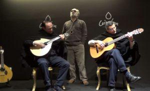Guitarra: Nuno Cadete, Viola: Luis Martins, Vozes de Coimbra: Martins Maio e Carlos Carranca, Coimbra Taberna 2016, Fados de Coimbra, Fado de Coimbra