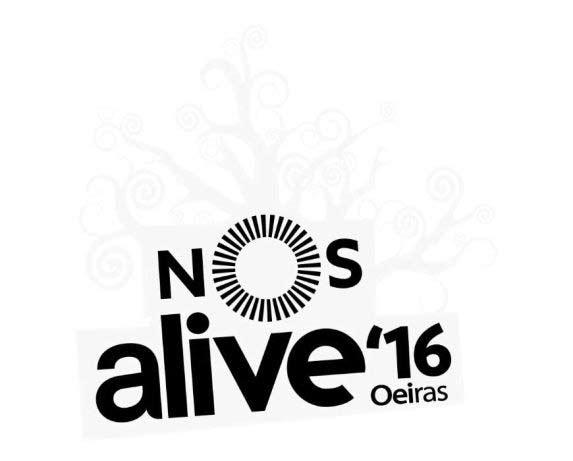 NOS Alive 2016, Nos alive, Cartaz NOS Alive 2016