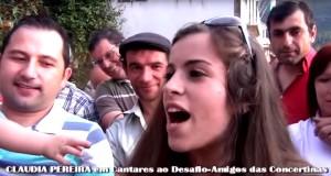 Claudia Pereira, Amigos das concertinas, desgarradas, Minho