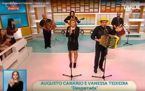 Desgarrada Augusto Canário e Vanessa Teixeira, Improviso, Augusto Canário na Grande Tarde da SIC - Televisão de Portugal, Andreia Rodrigues, João Baião