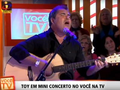 Toy ao vivo na TVI