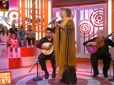 Maria Armanda ao vivo