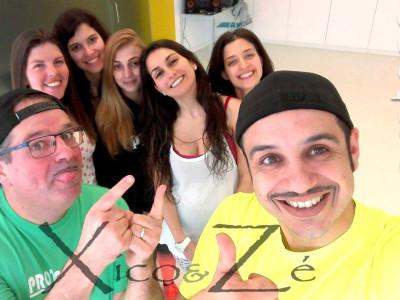 Xico e Zé – espetaculo de musica para pular à portuguesa