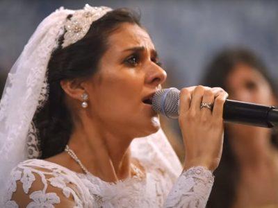 "Cuca Roseta cantou ""Avé Maria"" no seu casamento"