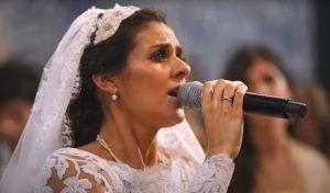 """Cuca Roseta cantou """"Ave Maria"""" no seu casamento, Cuca Roseta, Casamento, Canta Ave Maria, Ave Maria, Casamento de Cuca Roseta, Obidos, 2017"""