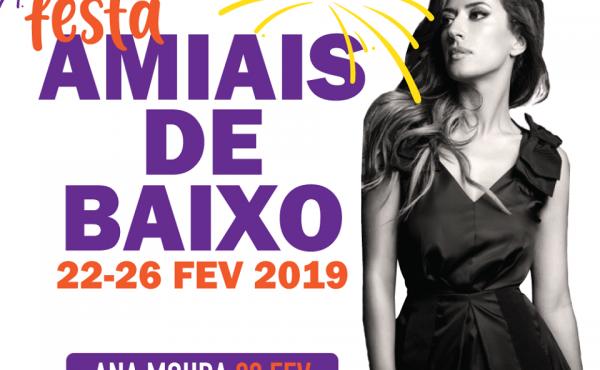 Ana Moura ao vivo 2019, Amiais de Baixo