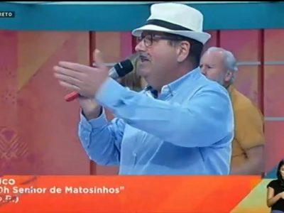 Xico canta Manuel Morais na Praça da Alegria – RTP
